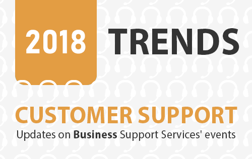 Updates on Business Support Services' events