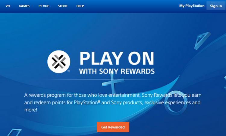 Sony: Sony Rewards