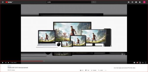 Stadia Google's Cloud-based Gaming Service